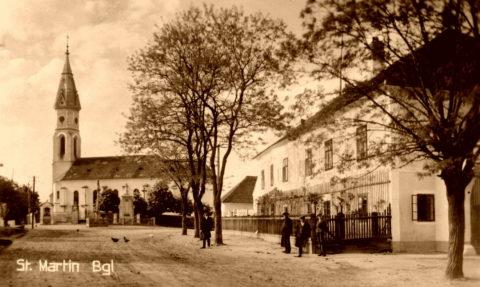 Markt St. Martin, 1930 (Bildbesitzer: Jürgen Karall)