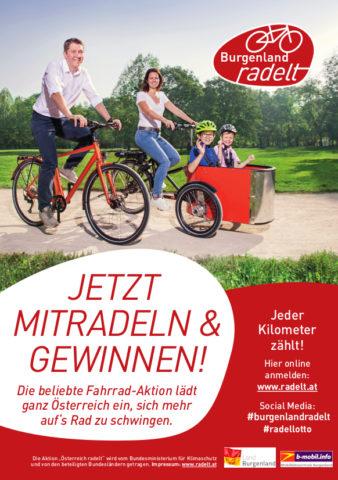 2020 Burgenland Radelt Plakat Webview
