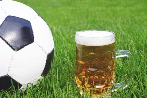 Sportfest, Fußball und Bier