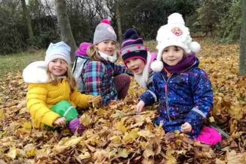 2020 Kindergarten Wanderung Sandkreuz Titel